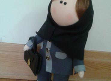 عروسک دانش آموزی و معلمی